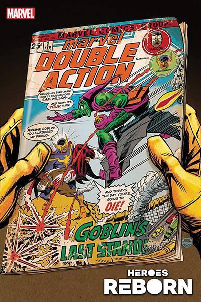 DF HEROES REBORN DOUBLE ACTION #1 JURGENS & SEELEY SGN