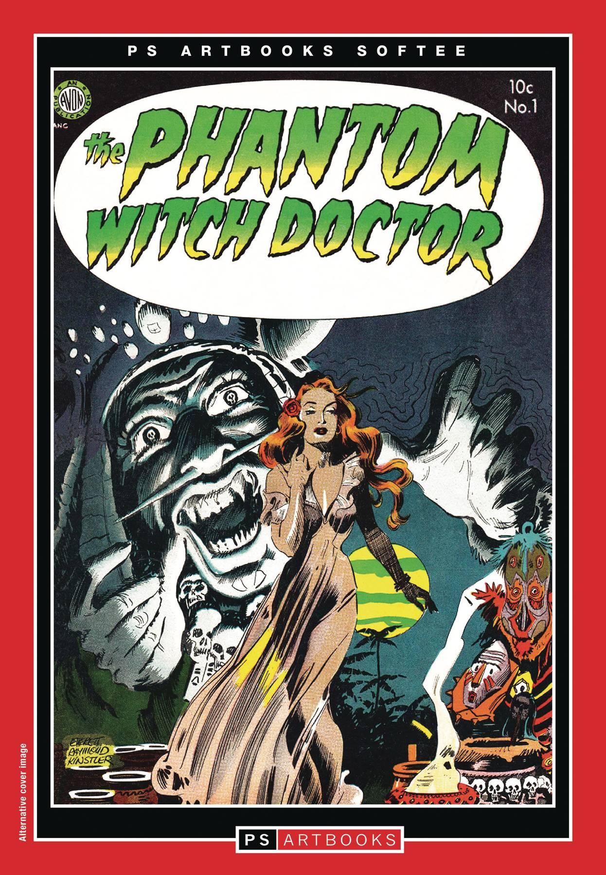 PS ARTBOOKS BEWARE SOFTEE TP 01 PHANTOM WITCH DOCTOR CVR