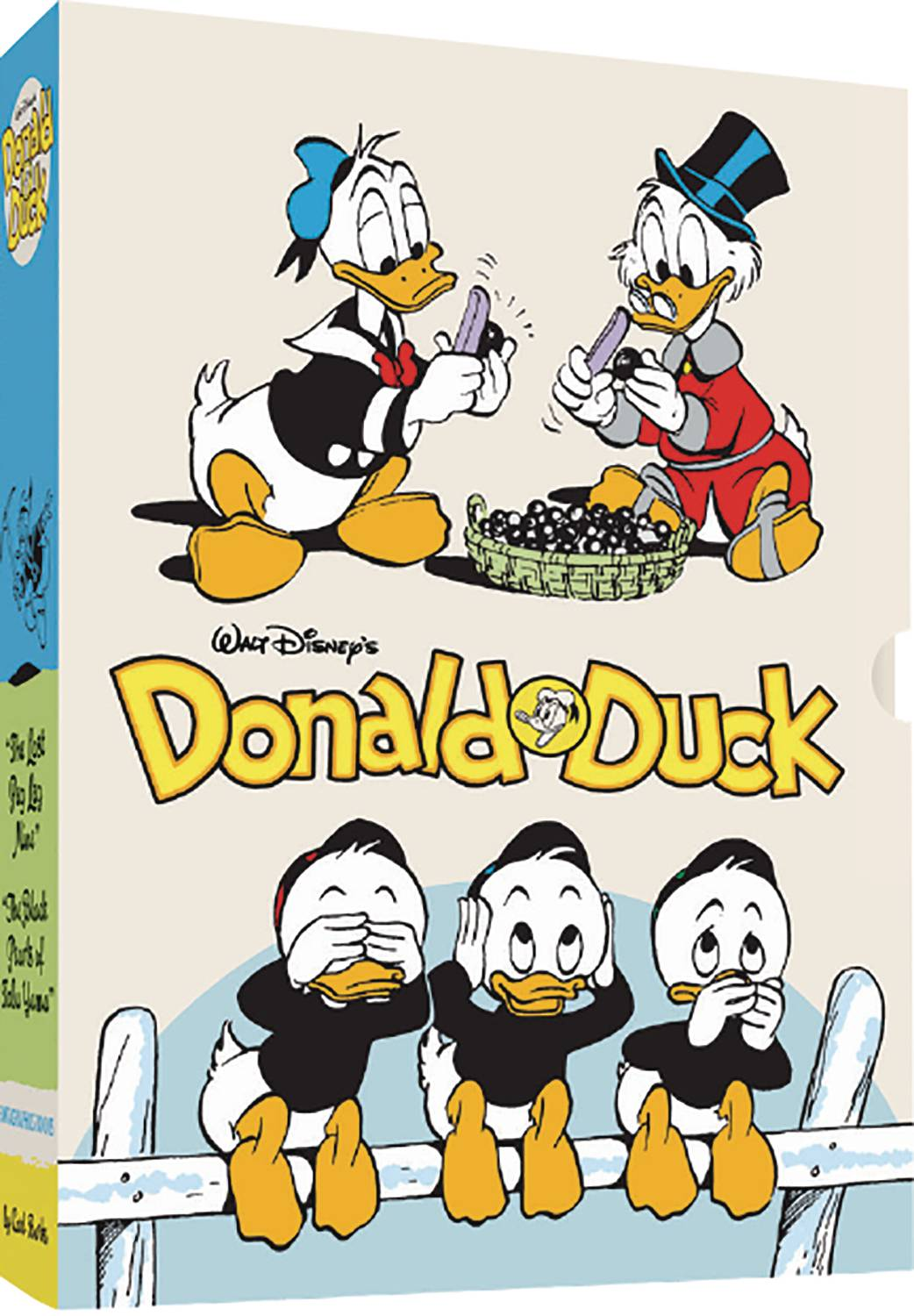 WALT DISNEY DONALD DUCK HC BOX SET PEG LEG BLACK PEARLS
