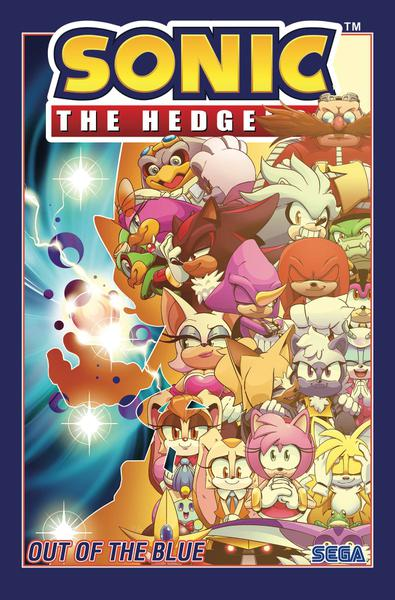 SONIC THE HEDGEHOG TP 08 OUT OF BLUE