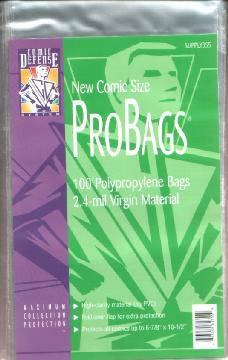 COMIC BAGS CURRENT CDS Polypropylene