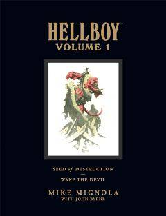 HELLBOY LIBRARY HC 01 SEED OF DESTRUCTION & WAKE THE DEVIL