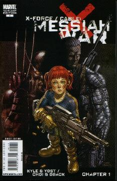 X-FORCE CABLE MESSIAH WAR PROLOGUE