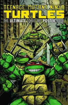 TMNT ULTIMATE COMIC ART POSTER BOOK TP