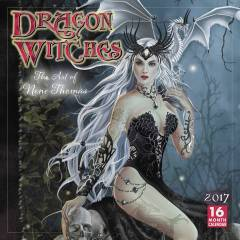 DRAGON WITCHES ART OF NENE THOMAS 2017 WALL CAL