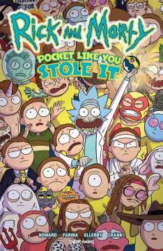RICK & MORTY POCKET LIKE YOU STOLE IT TP