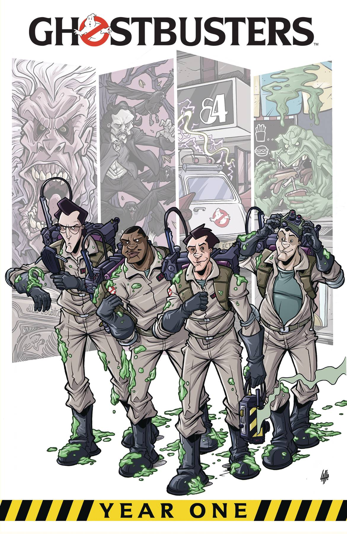 GHOSTBUSTERS YEAR ONE TP 01
