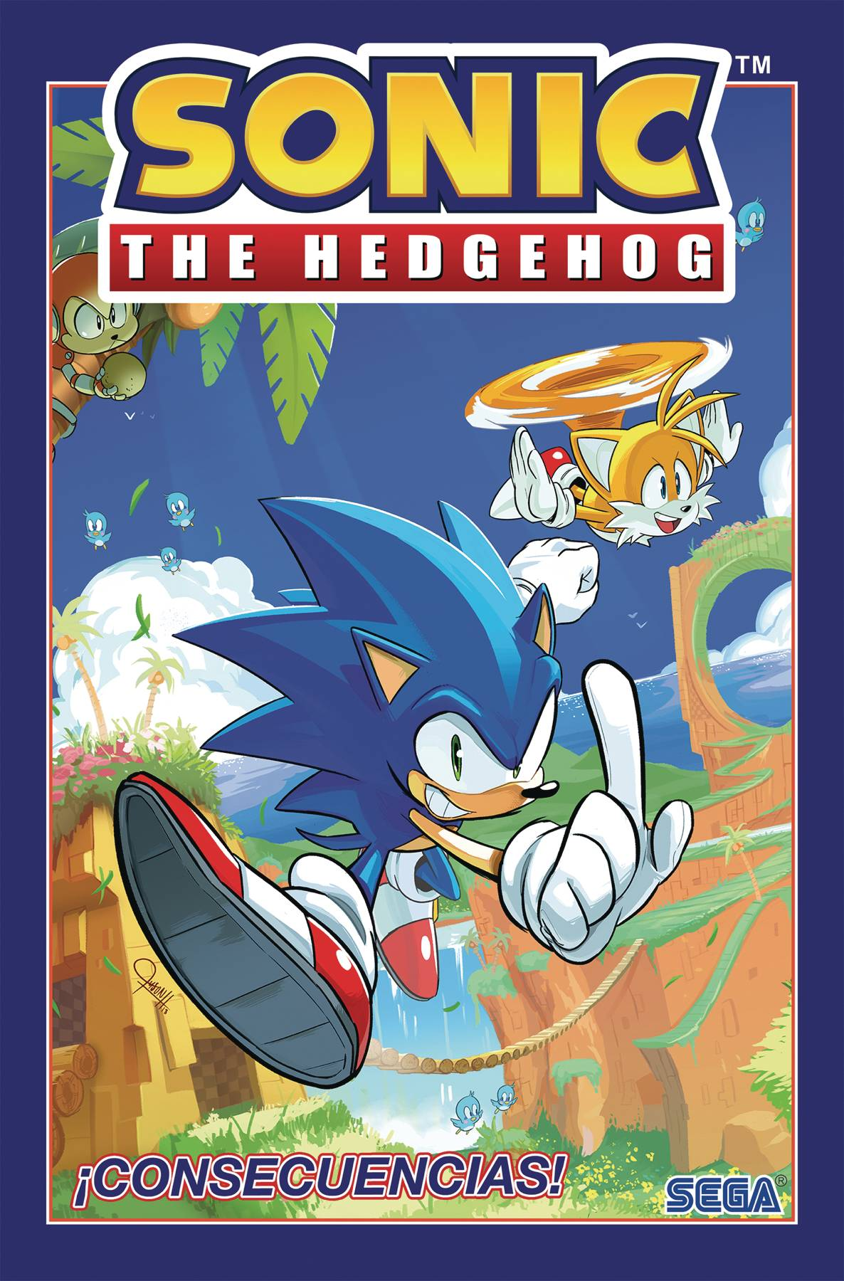 SONIC THE HEDGEHOG SPANISH ED TP 01 CONSECUENCIAS