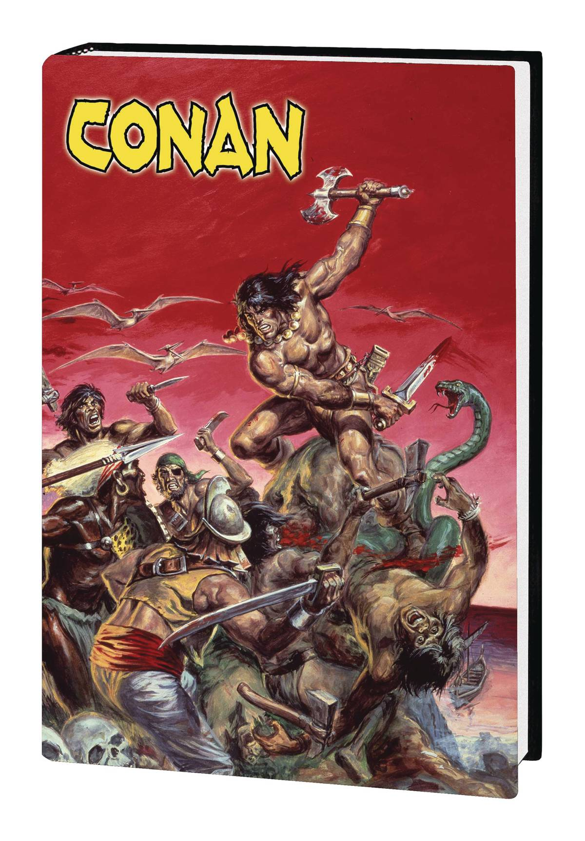 MARVEL ART OF SAVAGE SWORD OF CONAN HC