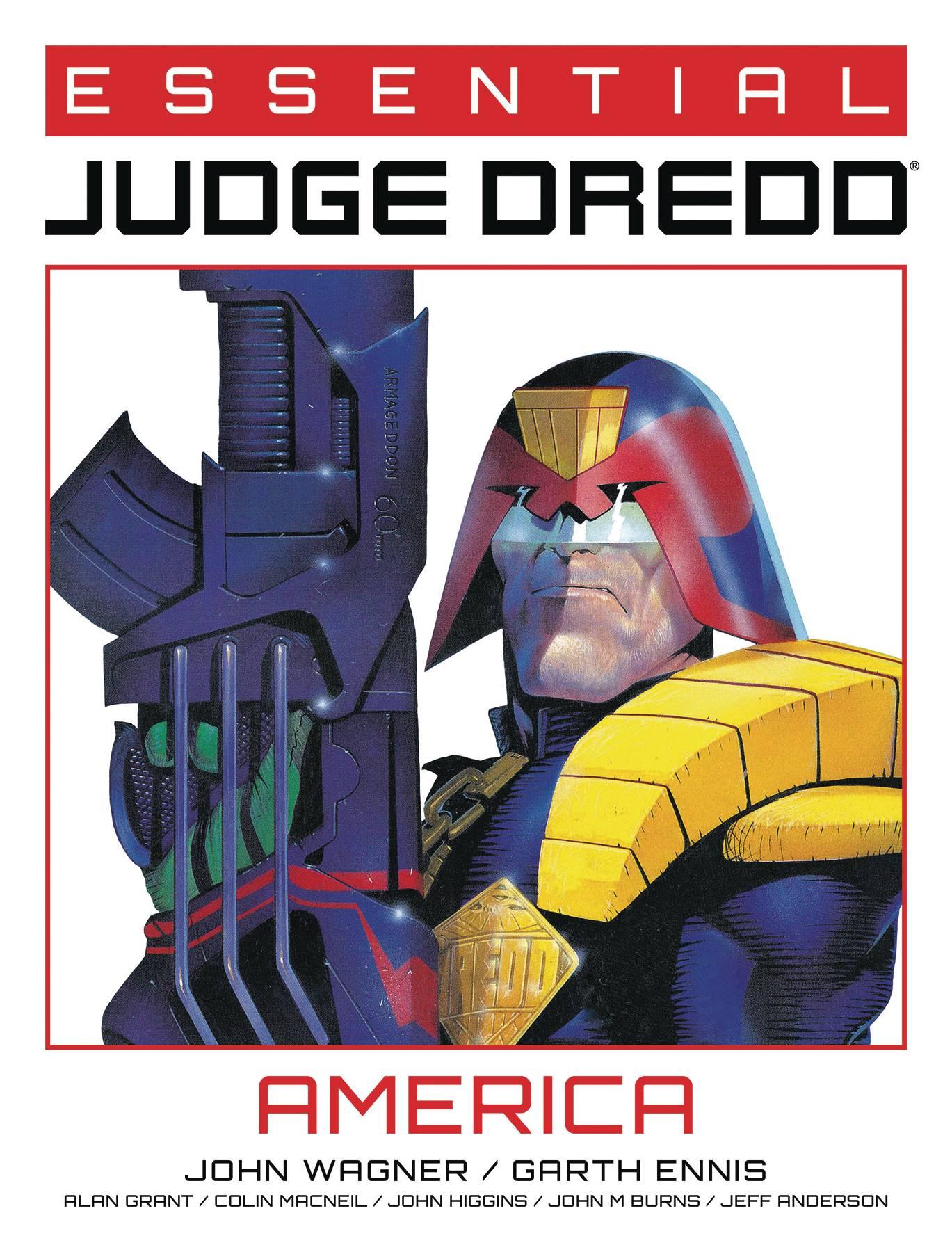 ESSENTIAL JUDGE DREDD TP AMERICA