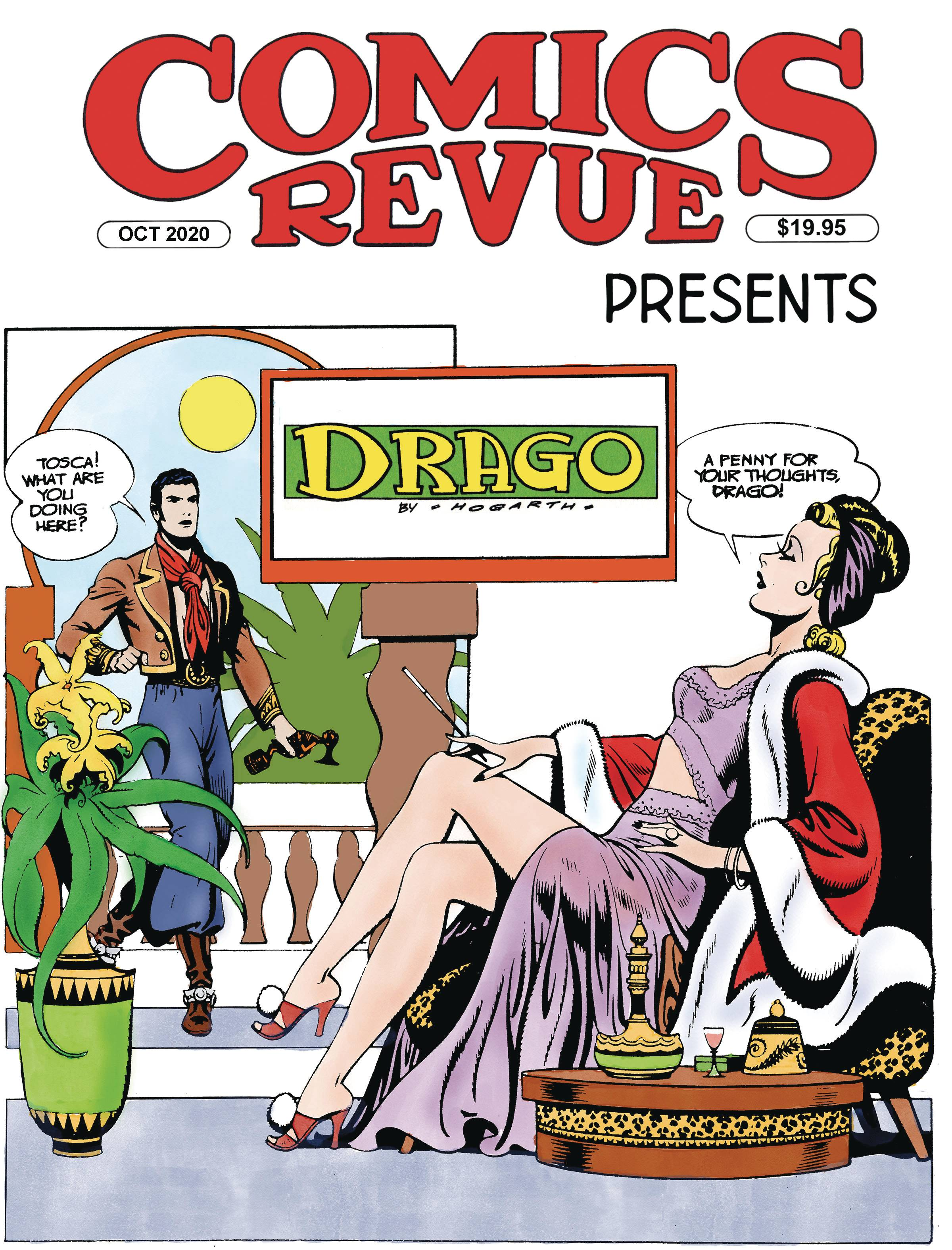 COMICS REVUE PRESENTS