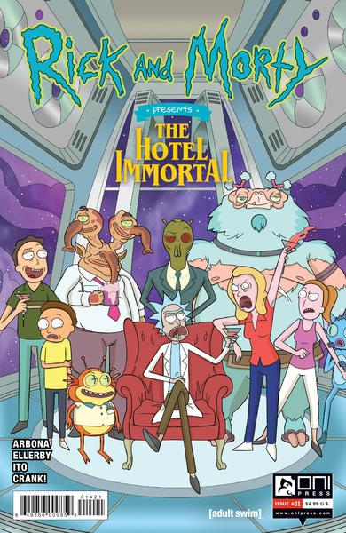 RICK AND MORTY PRESENTS HOTEL IMMORTAL