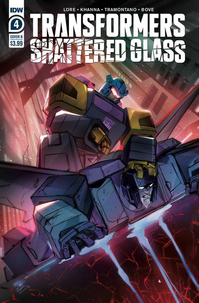 TRANSFORMERS SHATTERED GLASS