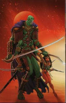 WARLORD OF MARS DEJAH THORIS