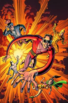 CONVERGENCE PLASTIC MAN FREEDOM FIGHTERS