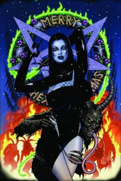 TAROT WITCH OF THE BLACK ROSE