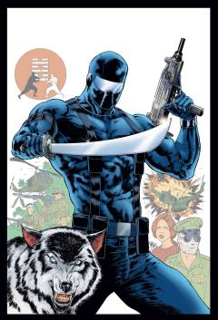GI JOE A REAL AMERICAN HERO SNAKE EYES ORIGIN