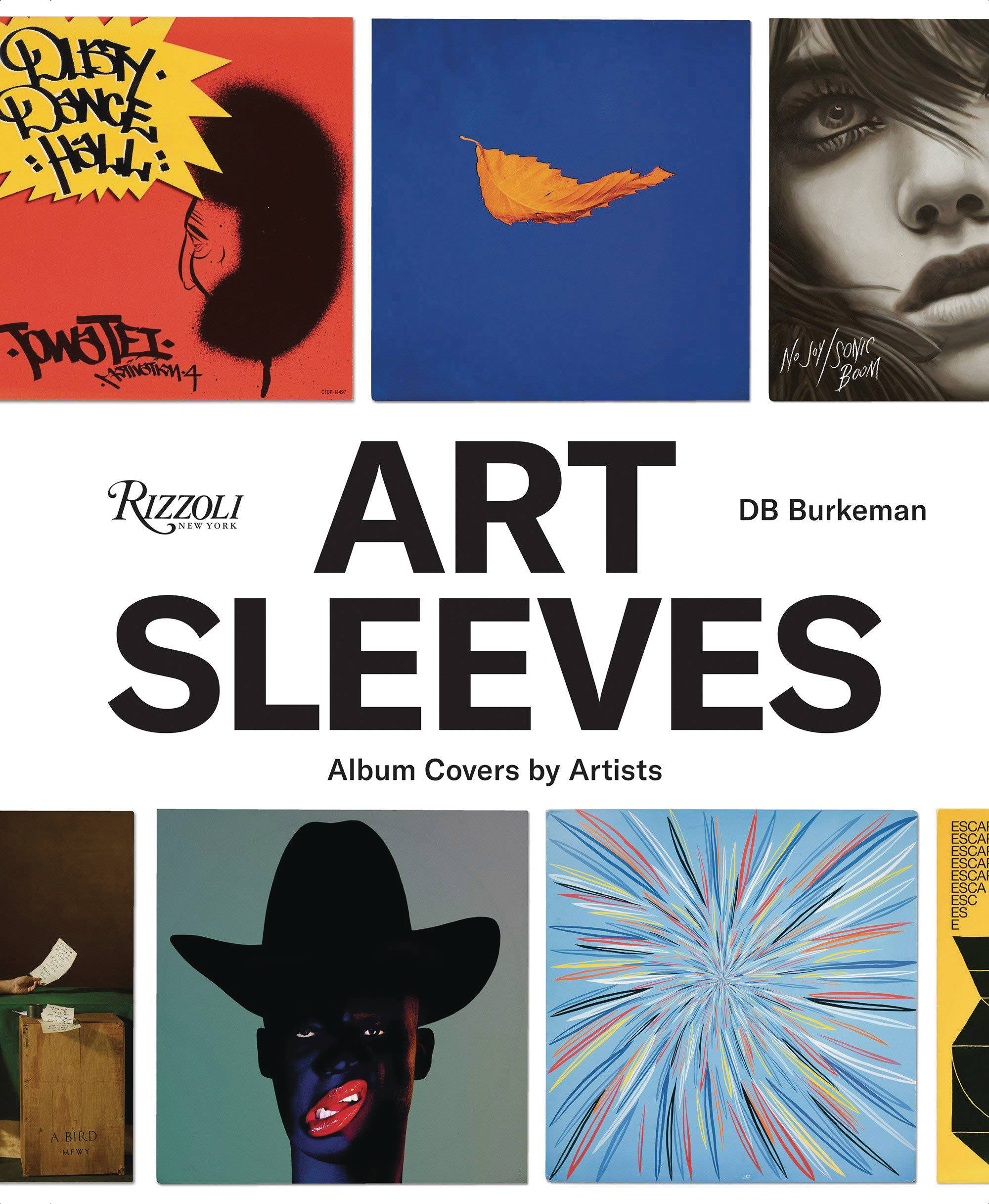 ART SLEEVES ALBUM COVERS BY ARTISTS HC