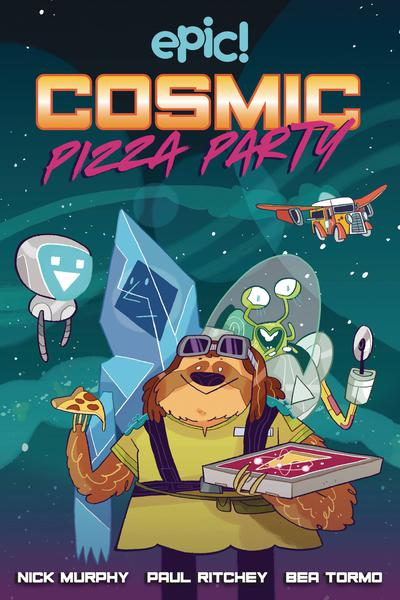 COSMIC PIZZA PARTY HC