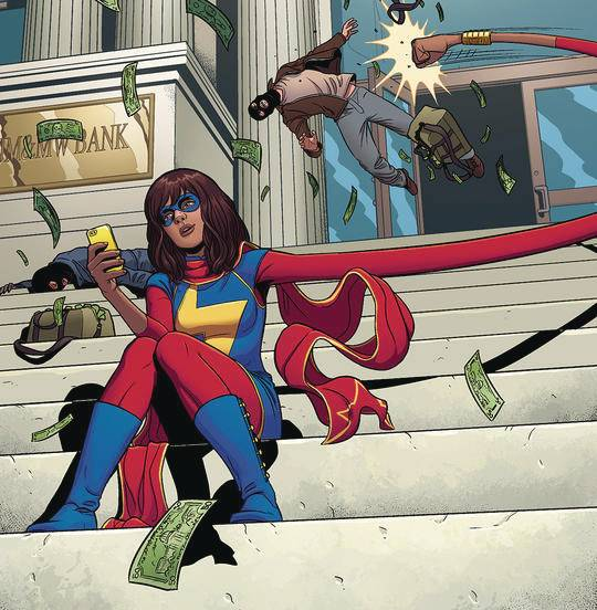 WORLD OF READING THIS IS MS MARVEL