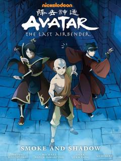 AVATAR THE LAST AIRBENDER SMOKE AND SHADOW LIBRARY ED HC