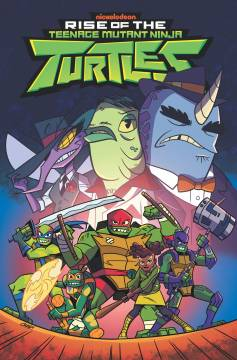 TMNT RISE OF THE TMNT TP 03 SOUND OFF