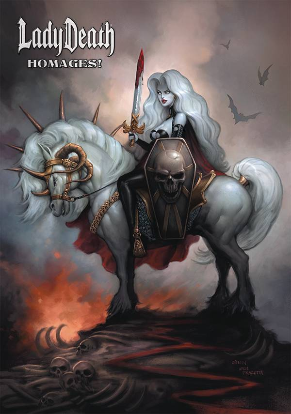 LADY DEATH HOMAGES ARTBOOK HC