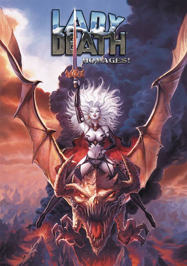 LADY DEATH HOMAGES SGN LTD ED ARTBOOK HC