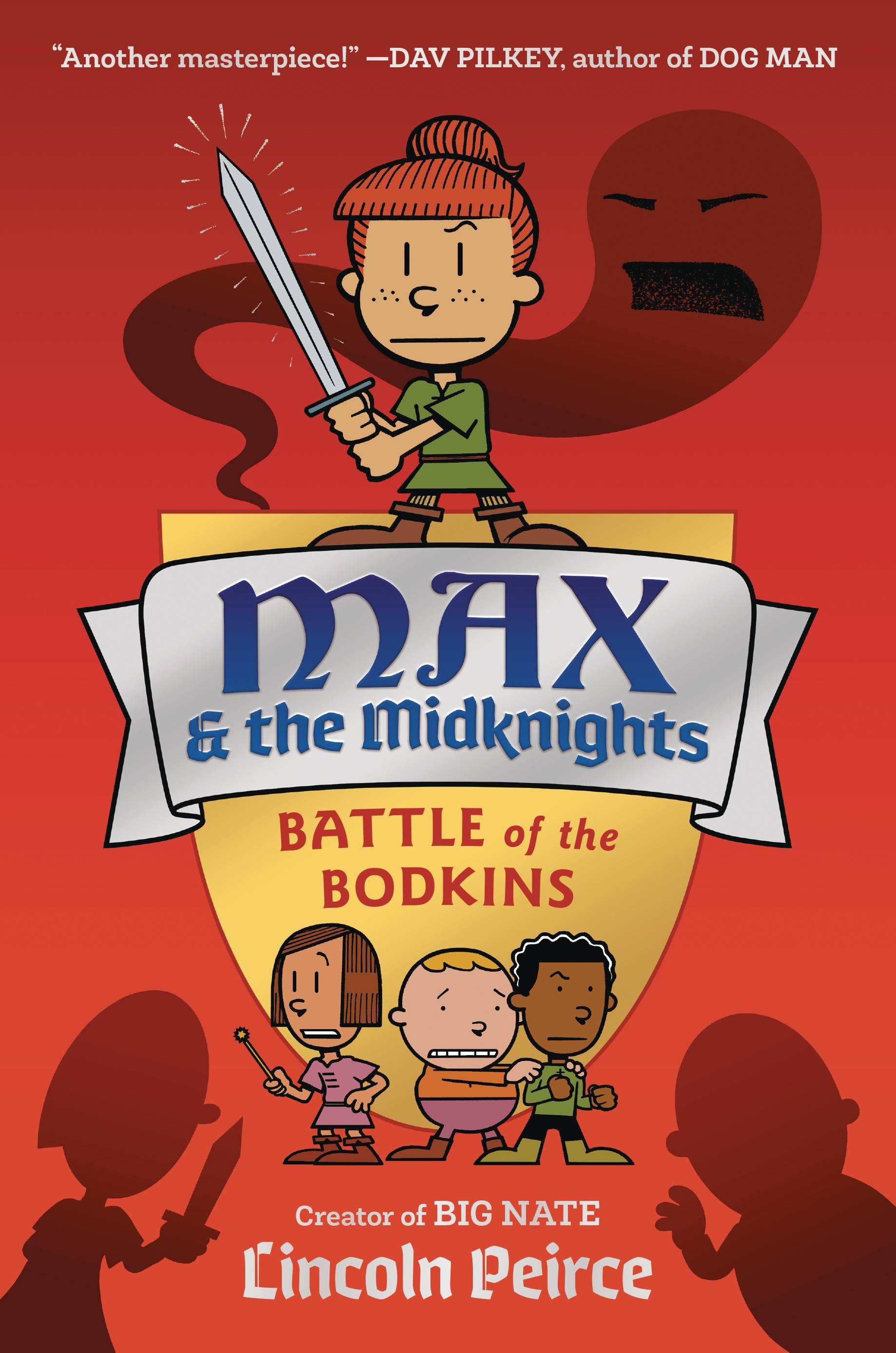 MAX AND THE MIDKNIGHTS ILLUS YA NOVEL HC BATTLE OF THE BODKI