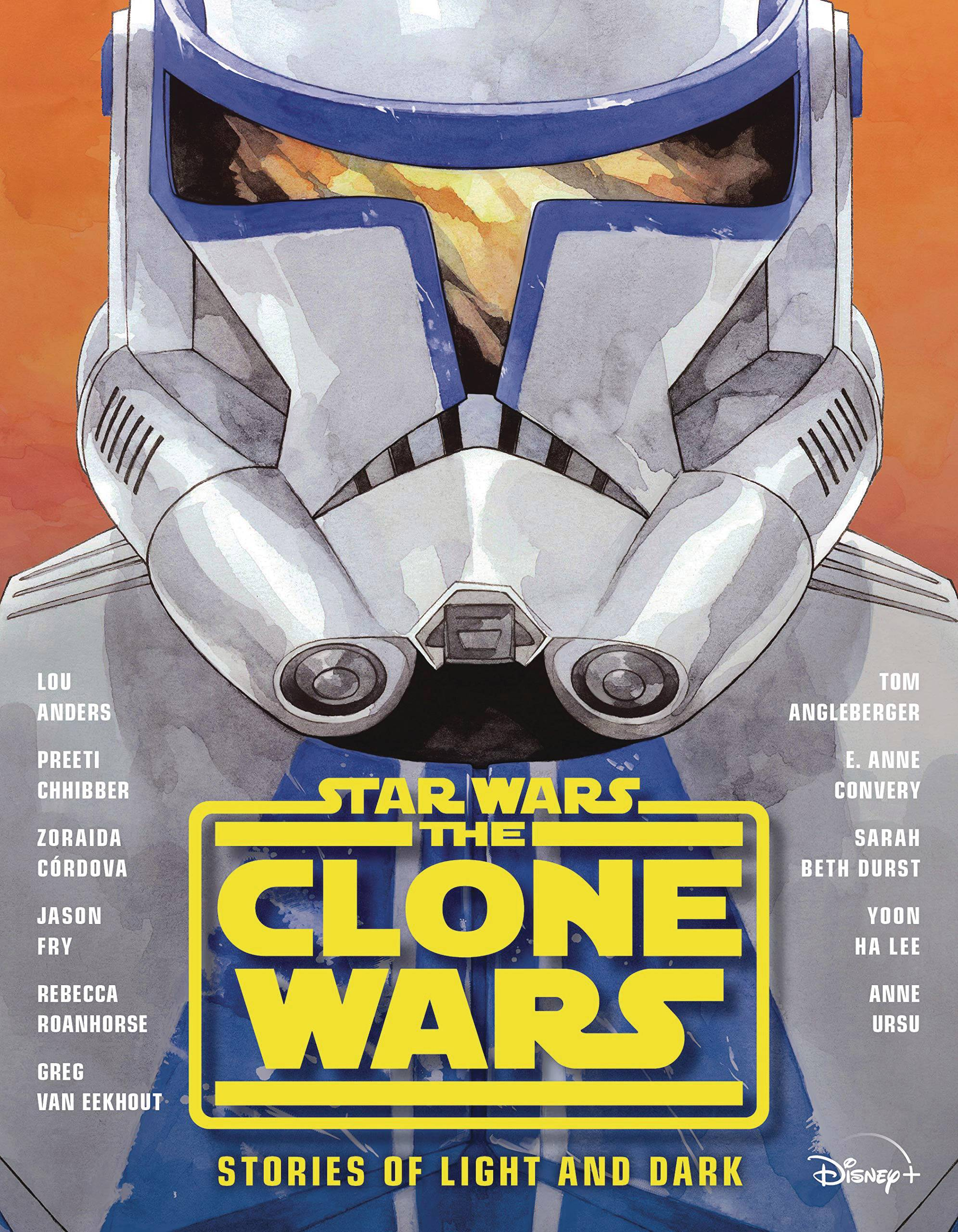 STAR WARS CLONE WARS STORIES OF LIGHT & DARK HC NOVEL
