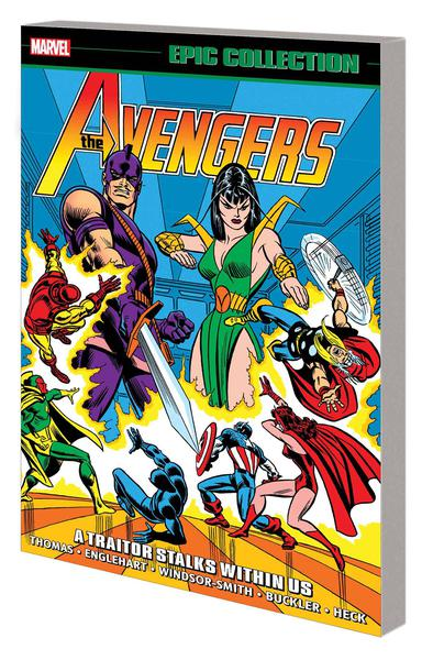 AVENGERS EPIC COLLECTION TP 06 A TRAITOR STALKS WITHIN US