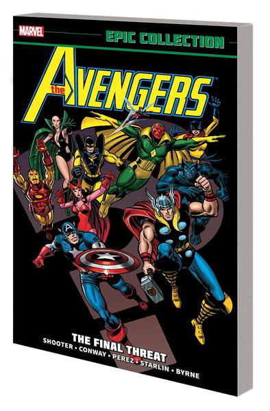 AVENGERS EPIC COLLECTION TP 09 FINAL THREAT