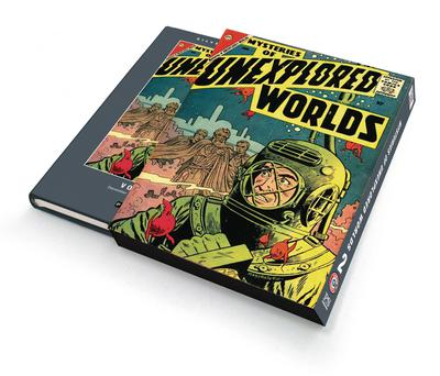 SILVER AGE CLASSICS MYSTERIES UNEXPLORED WORLDS HC 02 SLIPCASE